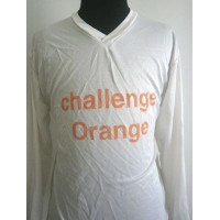 Maillot Challenge ORANGE FOOTBALL Taille XL