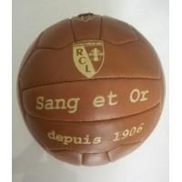 Ancien Ballon réplique RCL LENS Sang et Or depuis 1906