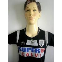 Maillot Enfant FCAC CALVI Taille 3/4ans N°4 Uhlsport ME215