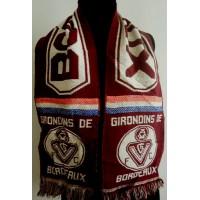 Ancienne écharpe Girondins de BORDEAUX Collector