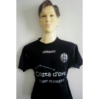 Maillot Enfant AS NEBBIU CORSE N°8 UHLSPORT Taille 12ans ME234