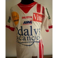 Maillot AS NANCY N°1 LFP Gennaro Bracigliano Taille L