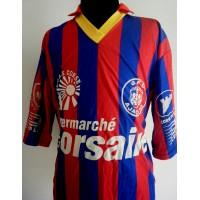Maillot ancien porté GFCA AJACCIO N°10 saison 1992