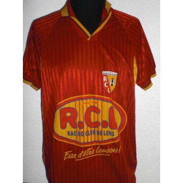 Maillot Rc Lens Floque Sikora N 2 Lnf Argus Foot Sports