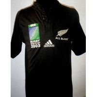 Maillot ADIDAS RUGBY WORLD CUP 2003 ALL BLACKS Taille S