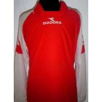 Maillot DIADORA Occasion Taille M rouge/blanc