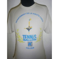Maillot TENNIS-BALLON Departement de la Haute-Corse Taille S