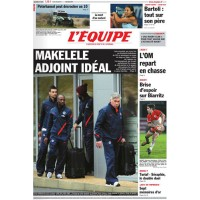 Journal l&#39Equipe 66° année N°20992 Lundi 2 Janvier 2012