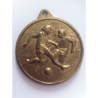 Médaille ancienne FOOTBALL GFCA AJACCIO 89 CORSE