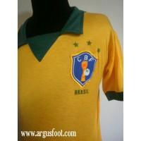 maillot ancien BRASIL Pelé N°10 Collector des années 70 bresil