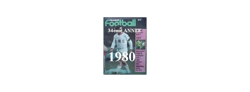 34ème ANNEE 1980