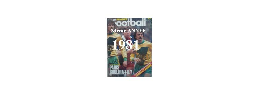 34ème ANNEE 1981