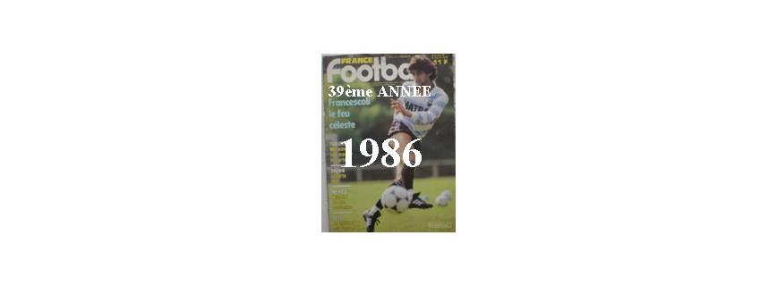 39ème ANNEE 1986