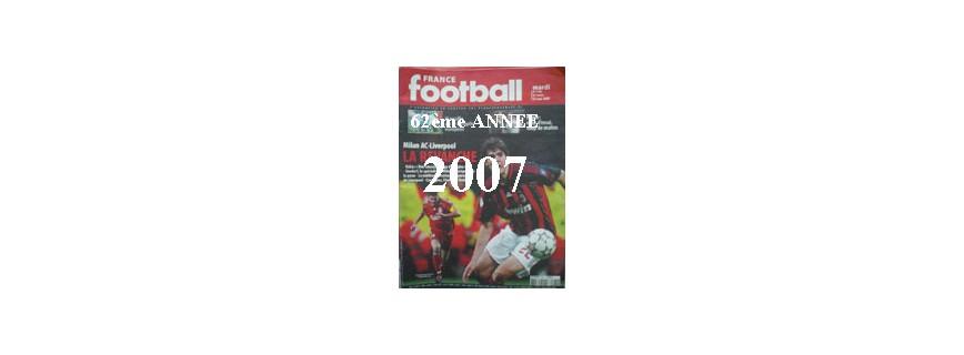 62ème ANNEE 2007
